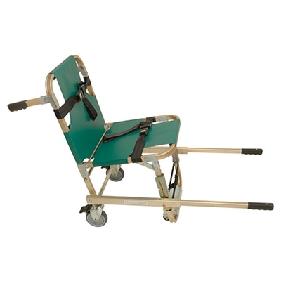 Junkin Evacuation Chair w/ Extended Handles & 4 Wheels